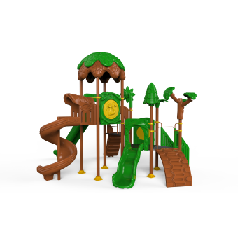 Tree-Themed Playground
