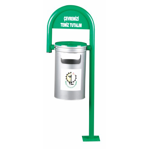 Stick Type Fixed Garbage Bin