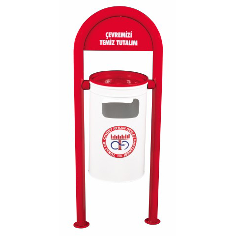 Two-base Garbage Bin