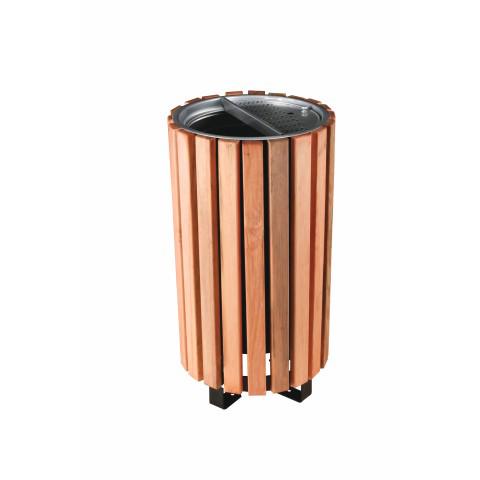 Wooden Dust Bin