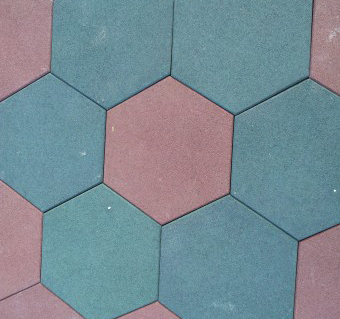 Hexagon Rubber