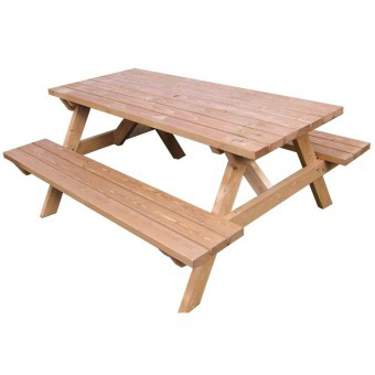 Standard Wooden Picnic Tables