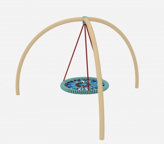 Tripod Bird-Nest Swing