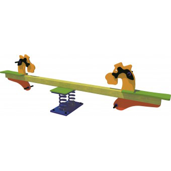 Seahorse Spring Seesaw